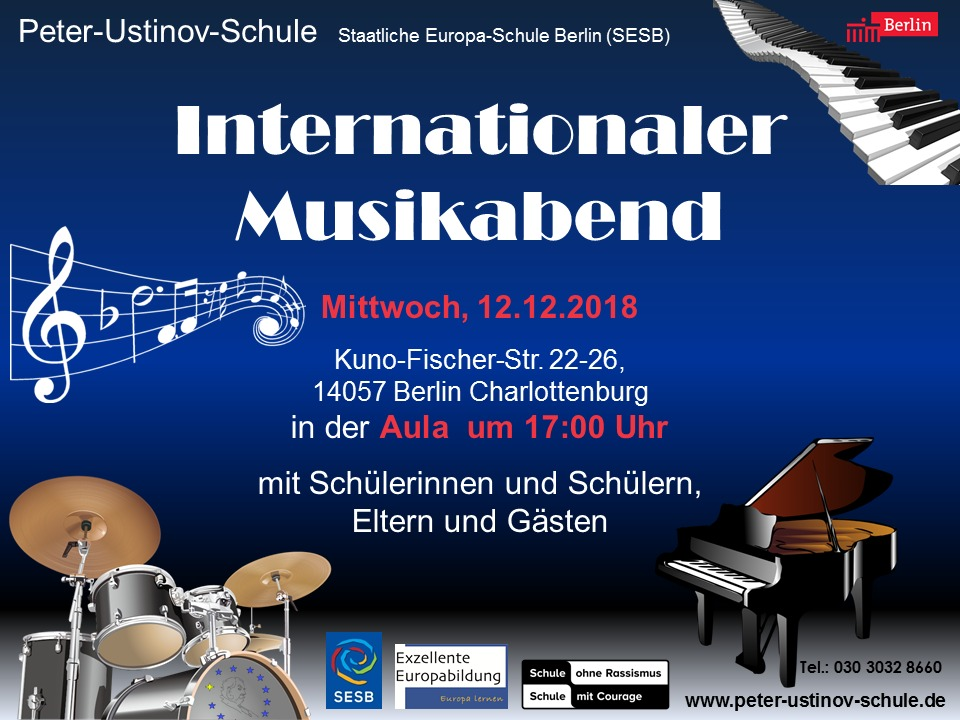 Internationaler Musikabend - Bild 1
