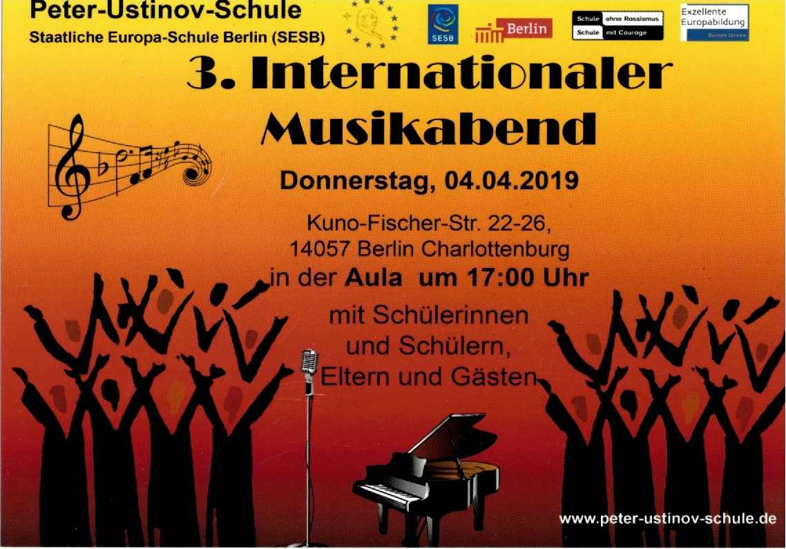 3. Internationaler Musikabend - Bild 1